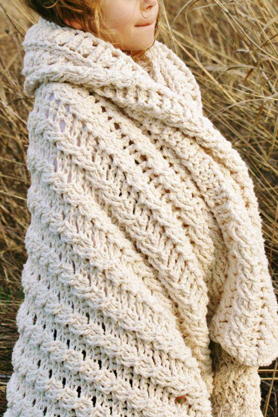 Ganchillo patrón afgano, manta, afgano de Nancy, patrón de la manta ...
