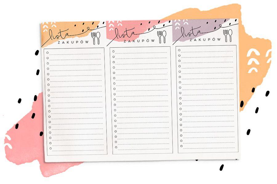 Portfelowa Lista Zakupow Do Wydrukowania 3 Wzory Za Darmo Diy Room Decor Room Diy Planner