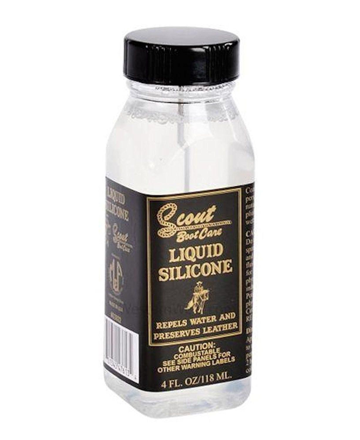 Scout Boot Care Clear Liquid Silicone Boot Cleaner Boot