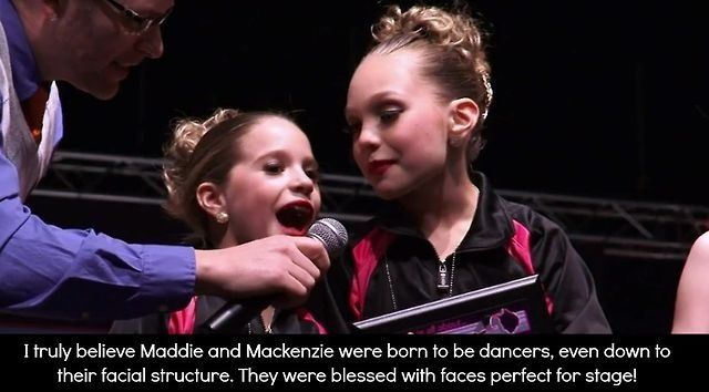 Dance moms confessions. And don't start a fight I don't mean that no one else from the team wasn't born to dance thank you