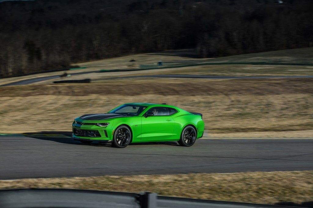 Krypton Green Officially Added To 2017 Chevrolet Camaro Zl1 S