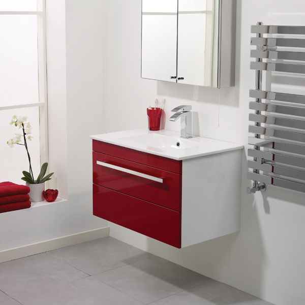 Red Wall Bathroom: We Love How A Pop Of Colour Can Totally Transform Your