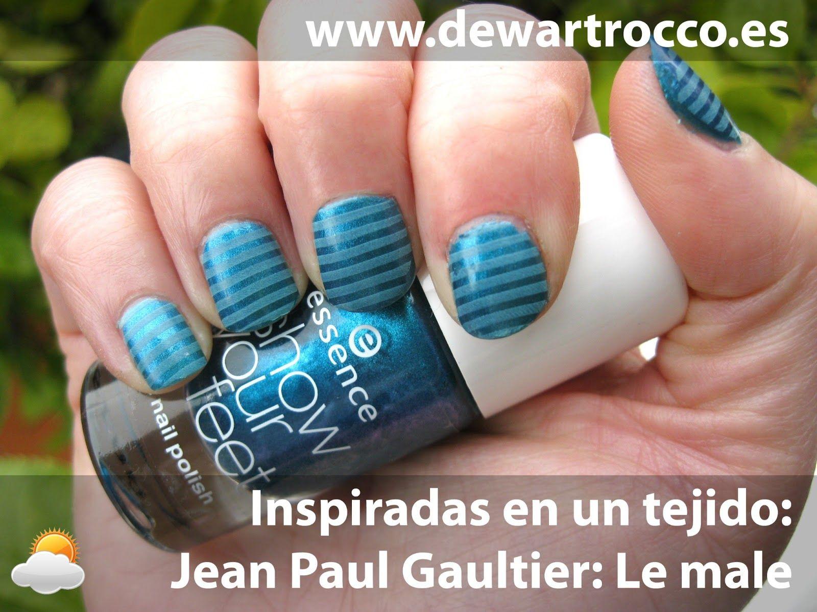 Dew Art Rocco: Día 26... Inspiradas en un estampado: Jean Paul Galtier - Le male