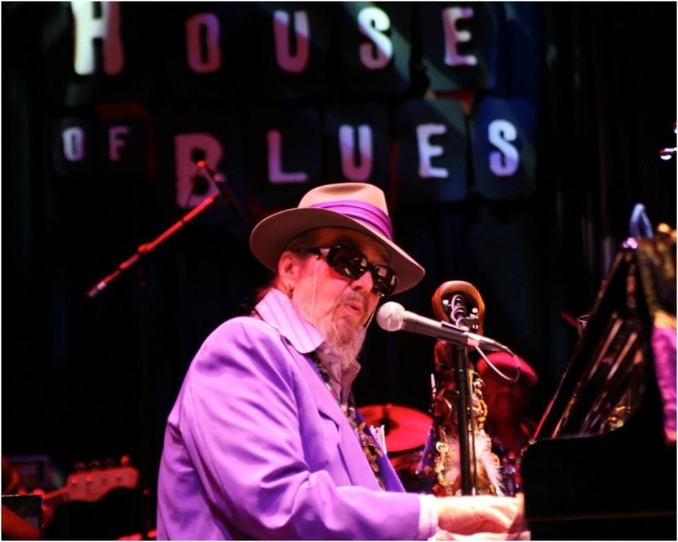 Dr. John live at House of Blues New Orleans! Weekend in