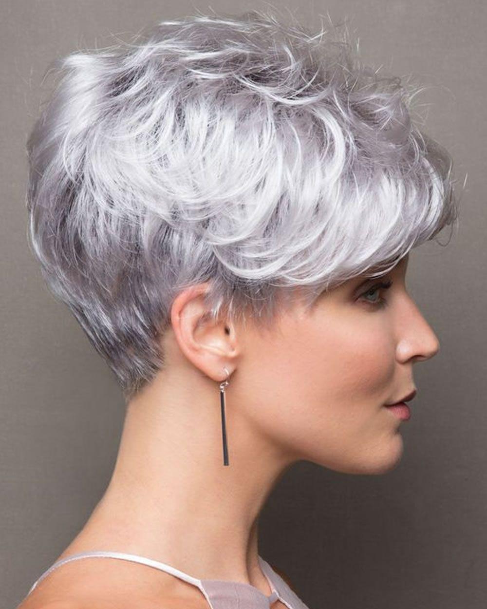 Pinterest frisuren kurz grau