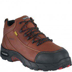 New Reebok RB4333 Men/'s Tiahawk Sport Hiker Boots Composite Toe Brown All Sizes