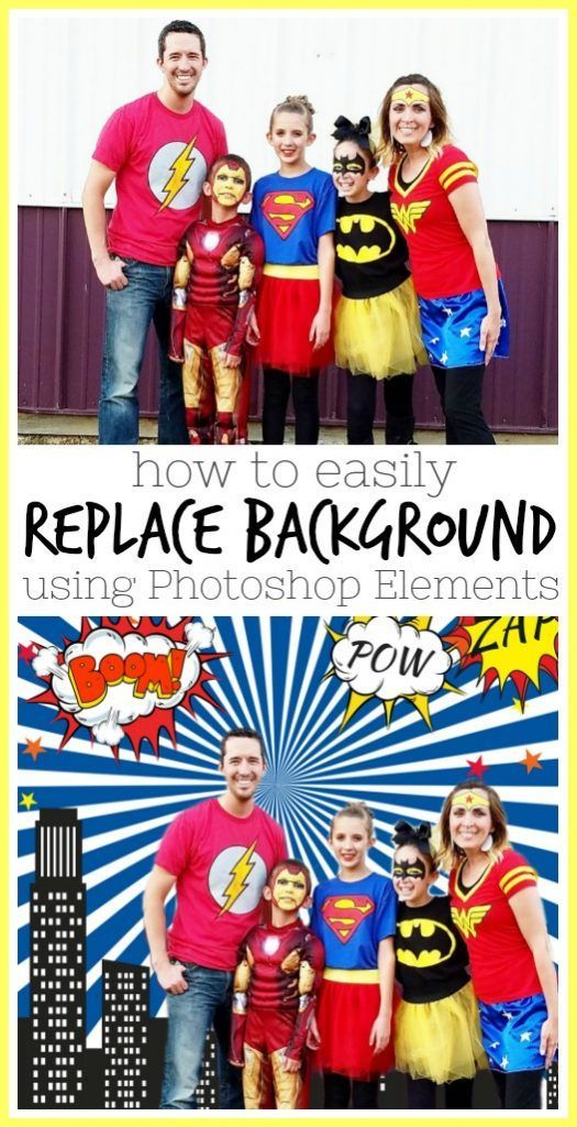 how to Replace Background in Photoshop Elements 2018 - Sugar Bee Crafts