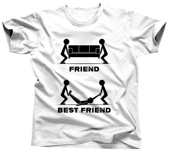 f35eb992 Funny Best Friend Shirts - Friend T Shirts - Friend Anniversary - Best  Friend Items - Friend Matchin