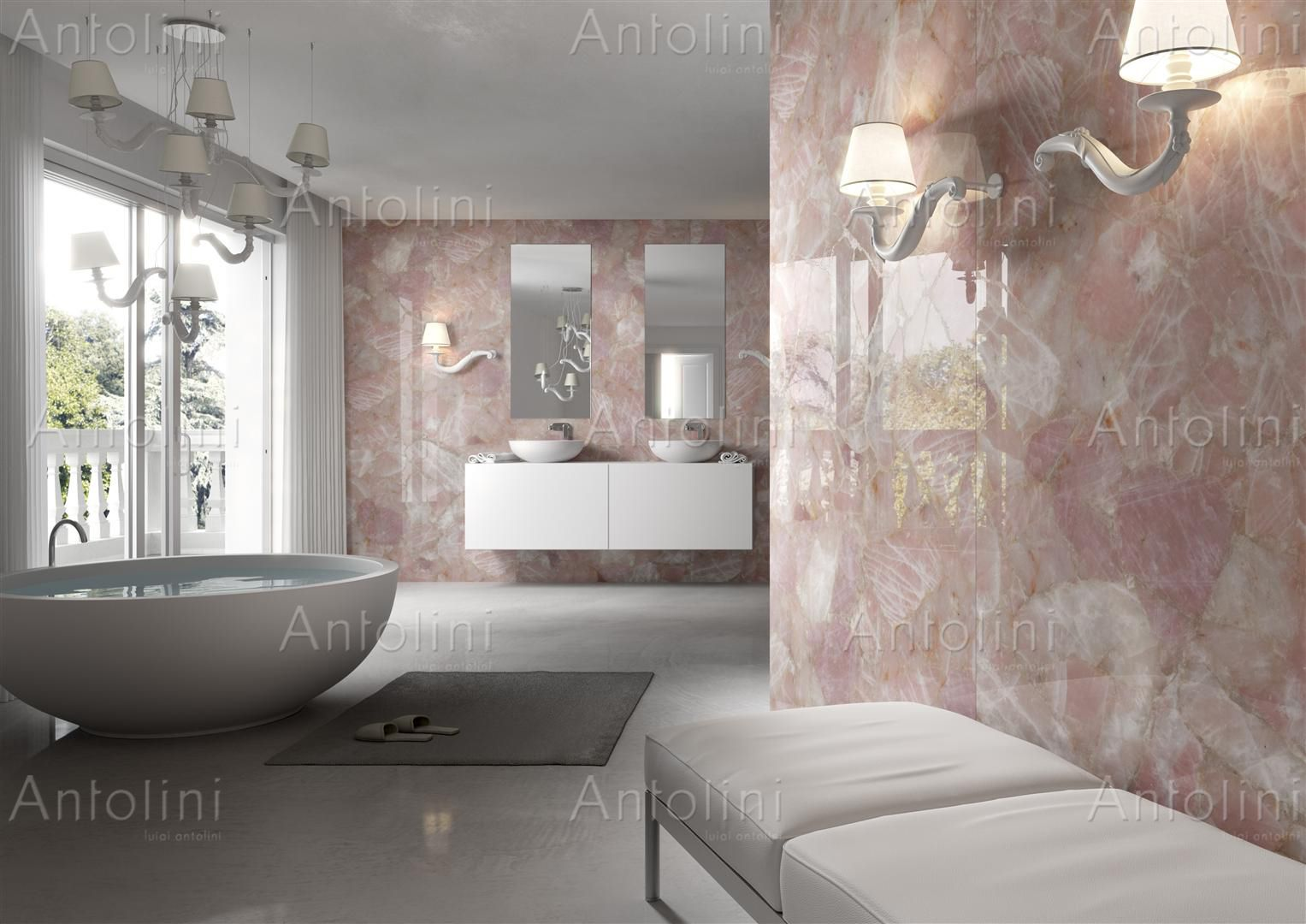 antolini pink marble | home interior decoration | pinterest | pink