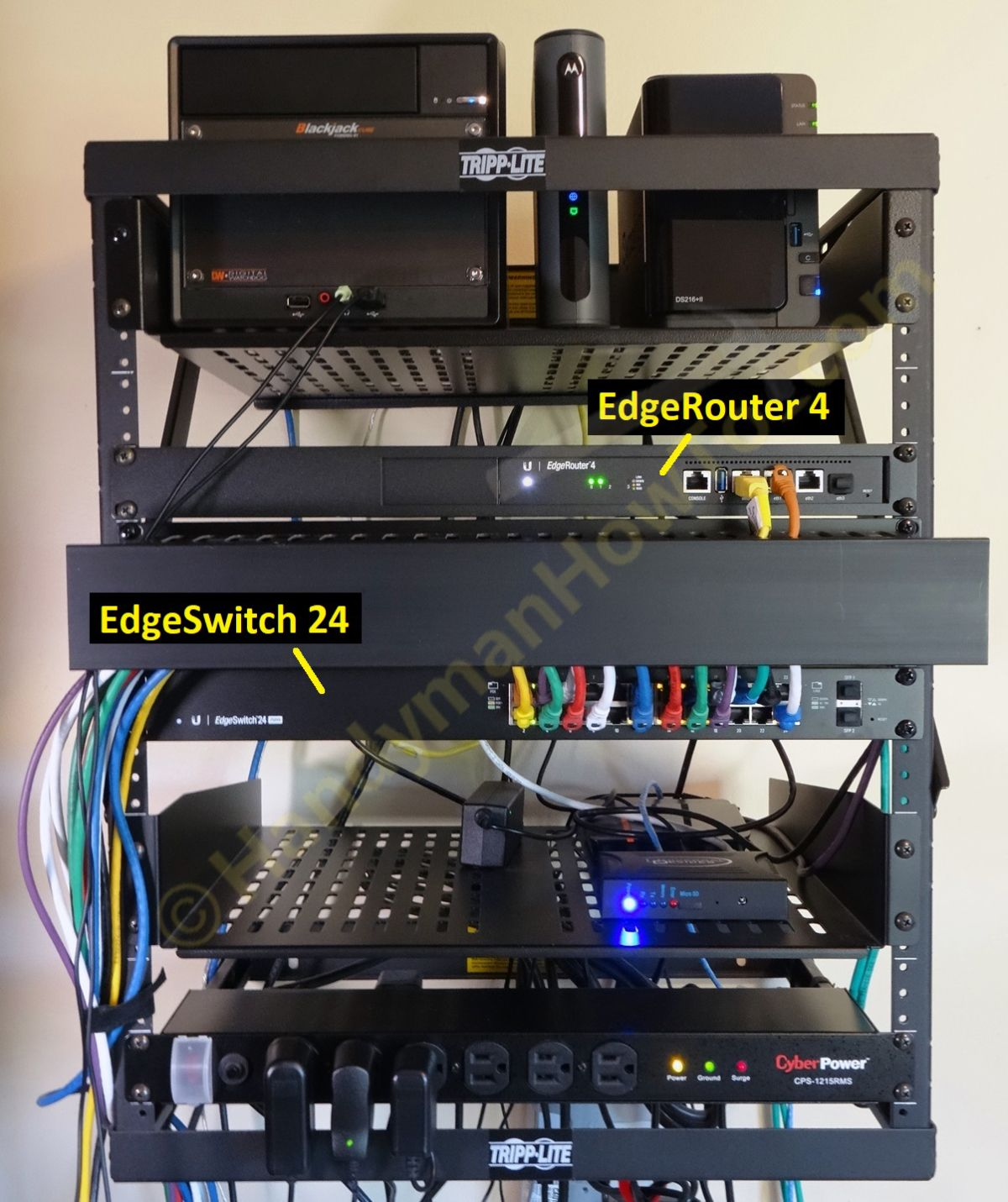 Edgerouter 4 Network Wall Rack Soho Network Network Rack Networking