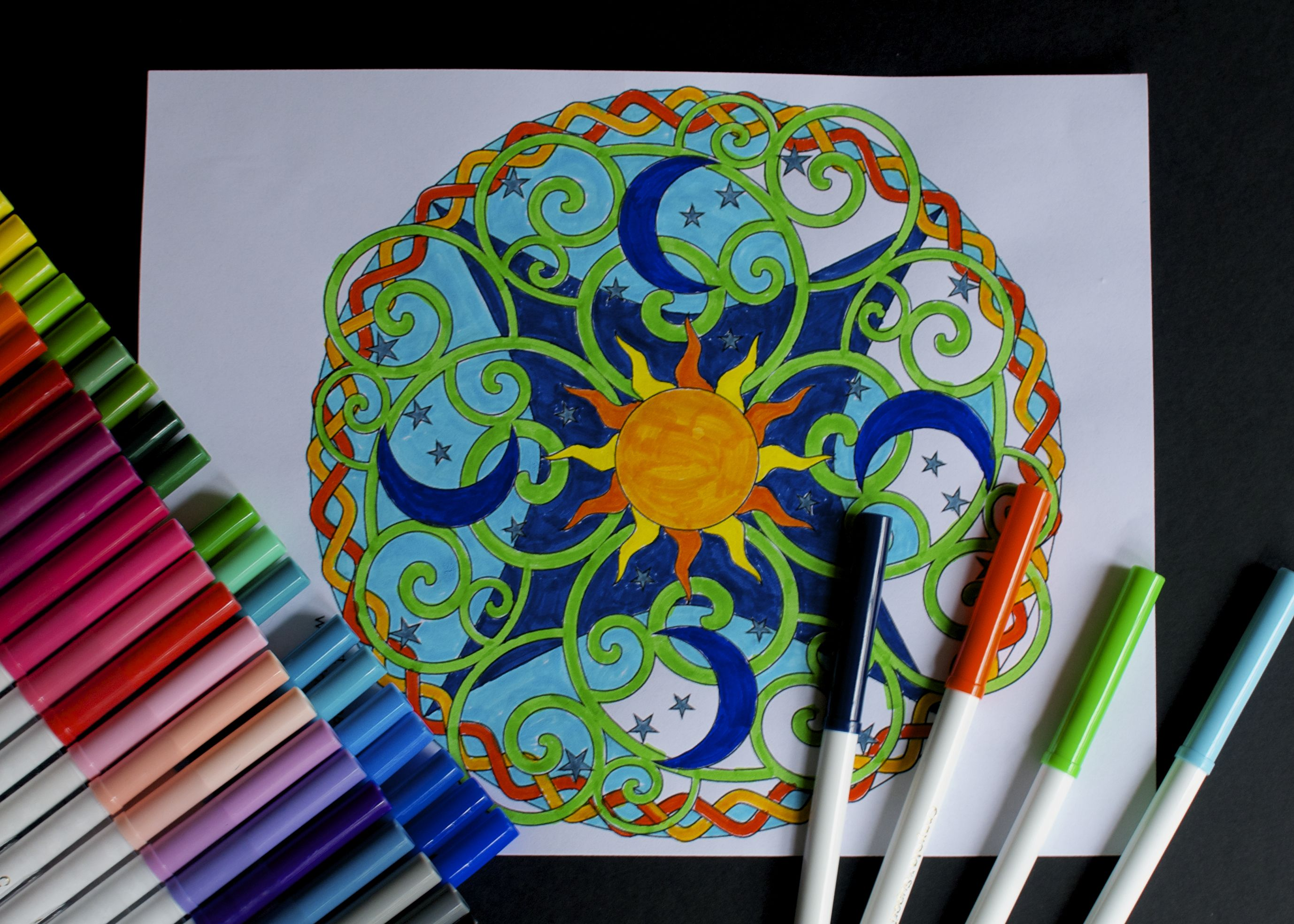Mad For Mandalas Coloring To Soothe The Muddled Add Mind