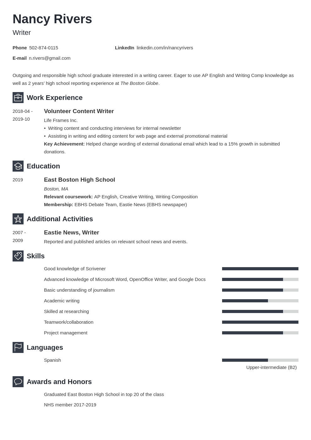 high school graduate resume example template newcast in