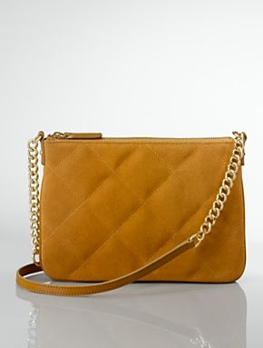 Talbots - Suede Quilted Crossbody Bag | New Arrivals |