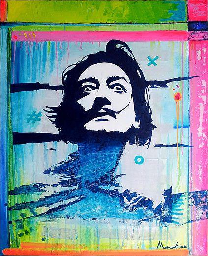 THOMAS MAINARDI - The Urban Pop Expressionist Artist | artwork