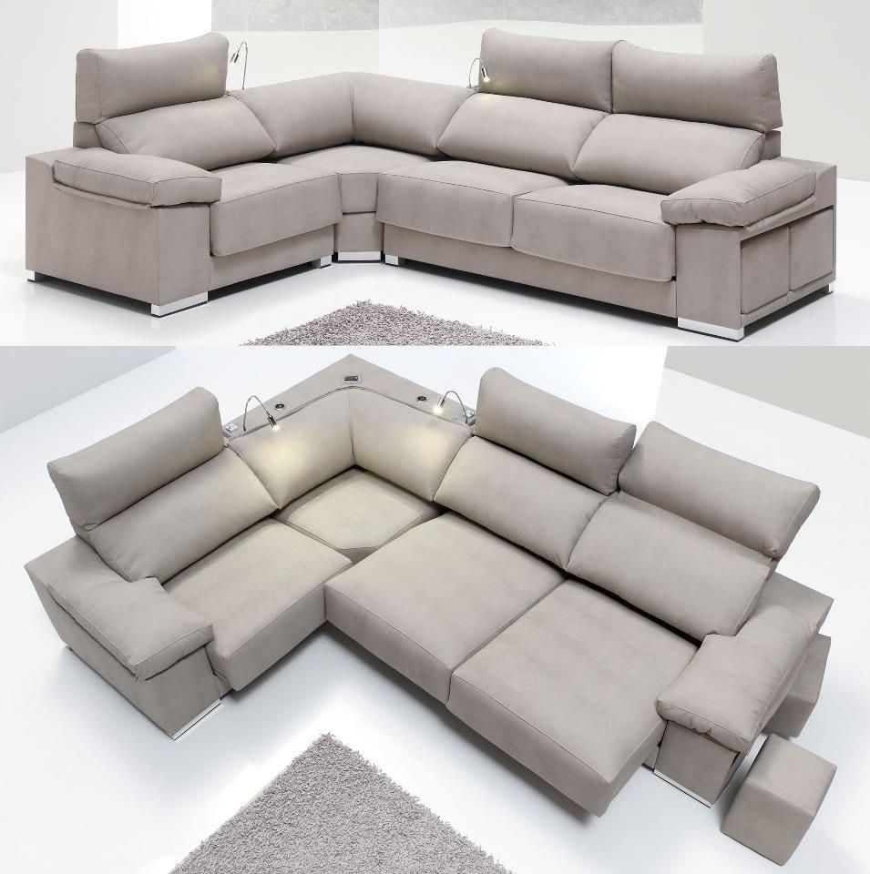 Nuevo Sof Versi N Rinconera Chaise Longue 3 2 Y 1 Plazas Para  ~ Precio Tapizar Sofa Tres Plazas