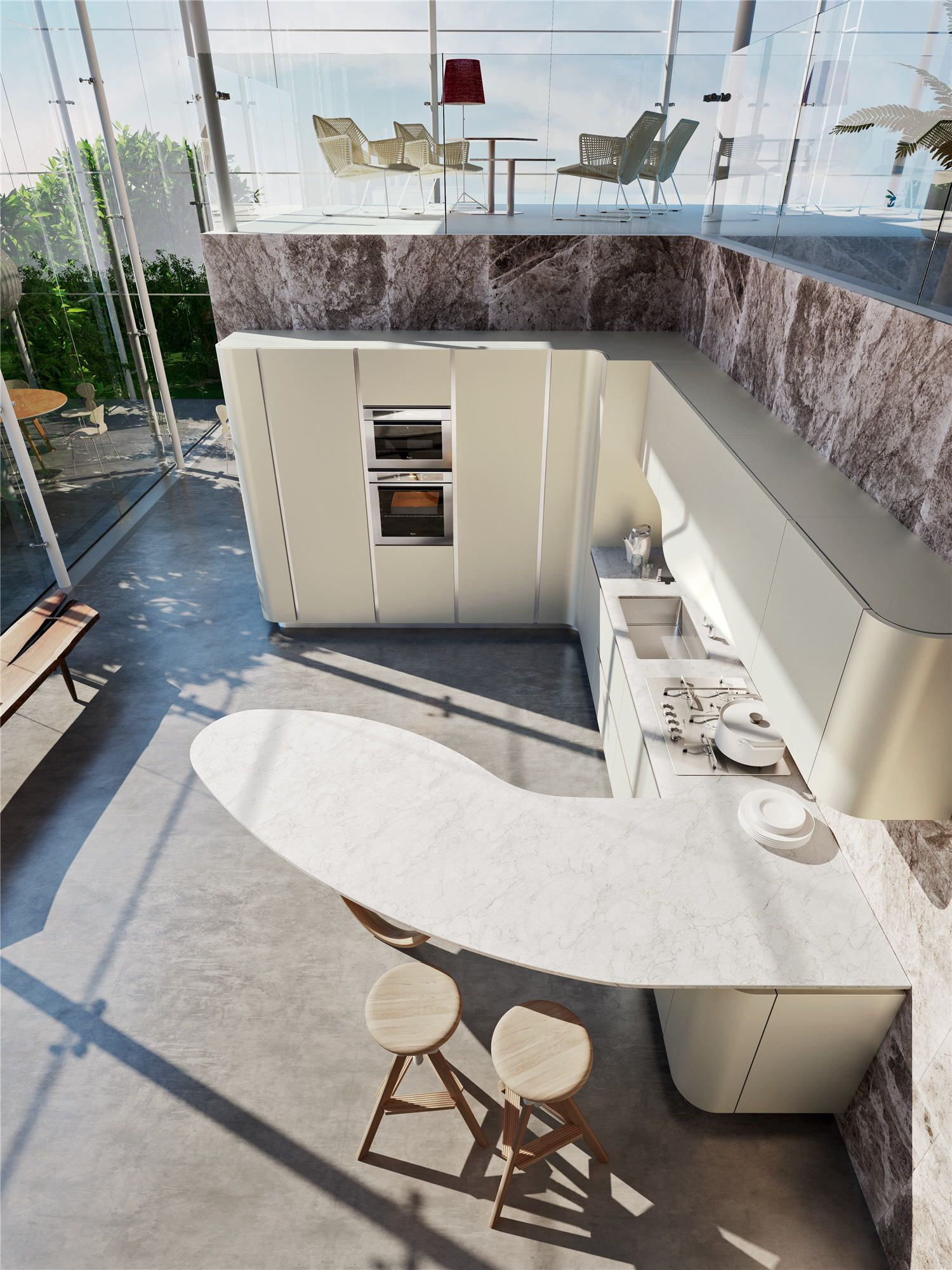 cucina moderna ola 20 | Snaidero USA #kitchen #modern ...