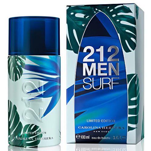 Carolina Herrera 212 Surf Perfume Packaging Perfume