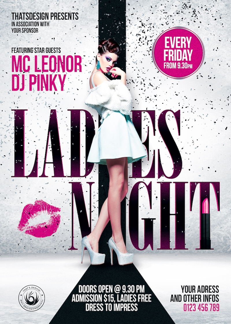 Pin On Dj Club Party Flyers Design Templates Psd