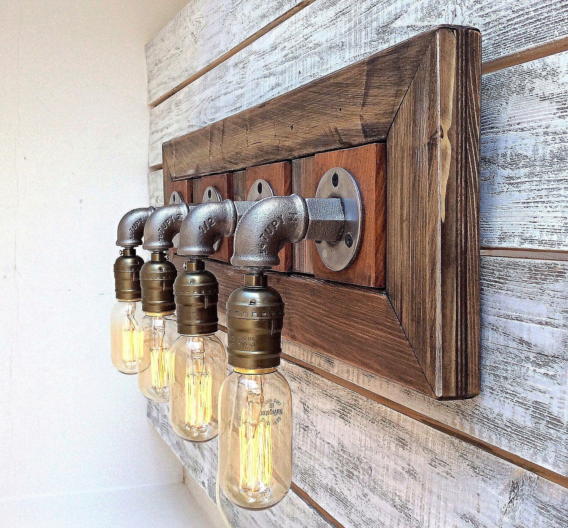 Bathroom vanity light fixtures rustic bathroom vanity