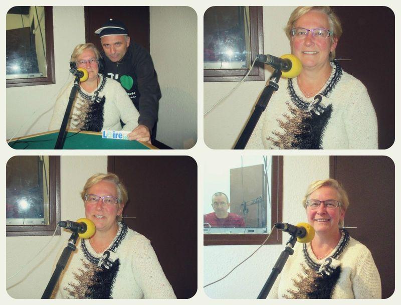 Marie-Hélène RIAMON sur Loire FM jeudi 15 Octobre 18 h 00.