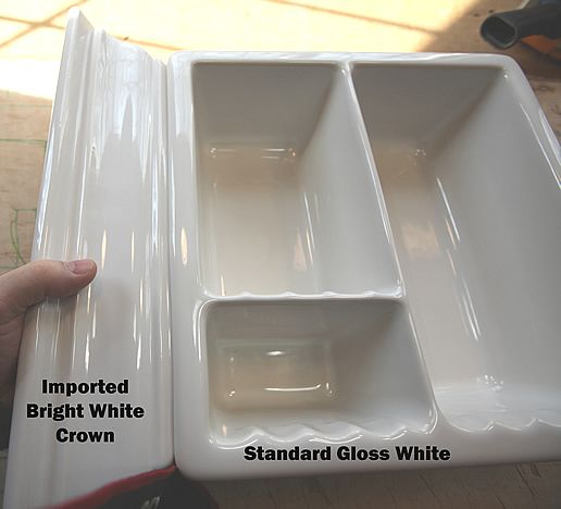 Superieur Crown Molding And 3 Compartment