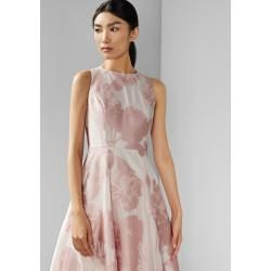 Photo of Ärmelloses Midikleid Mit Blumen-print Ted BakerTed Baker
