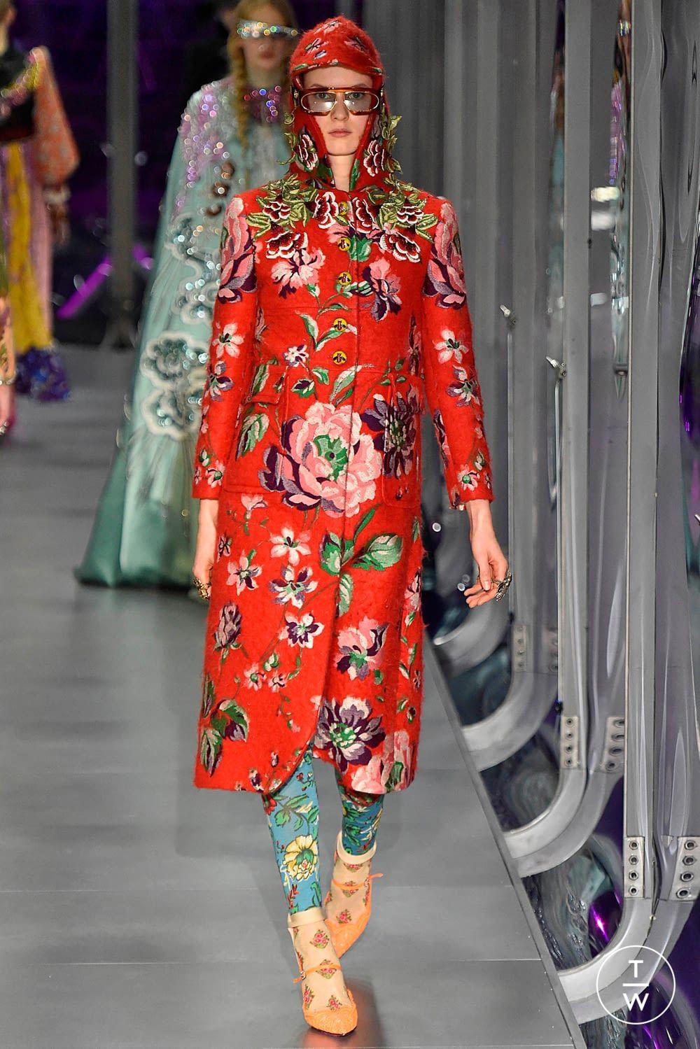 33ba1e6de9bde Gucci - Fall/Winter 2017 - Look 47 | Fashion Director's Inspiration ...