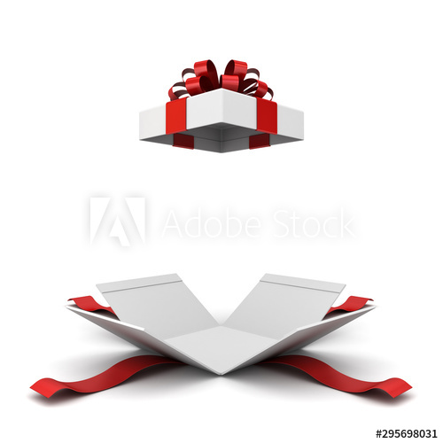 Download Hd Free Png Open Gift Box Red Transparent Png Images Transparent Christmas Gift Box Open Clipart And Use The Fr Christmas Gift Box Clip Art Free Png