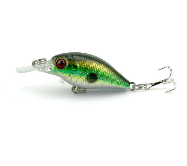 VTAVTA 5pcs Mini Cranks Wobblers Set Of Lures For Fishing Lure Kit Artificial