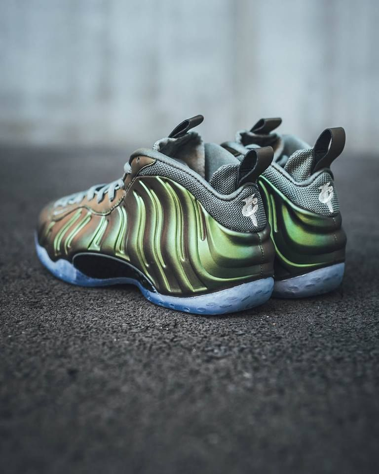 hot sale online 85d11 3a50d The women s Nike Air Foamposite One Shine (Dark Stucco) is now available at  select