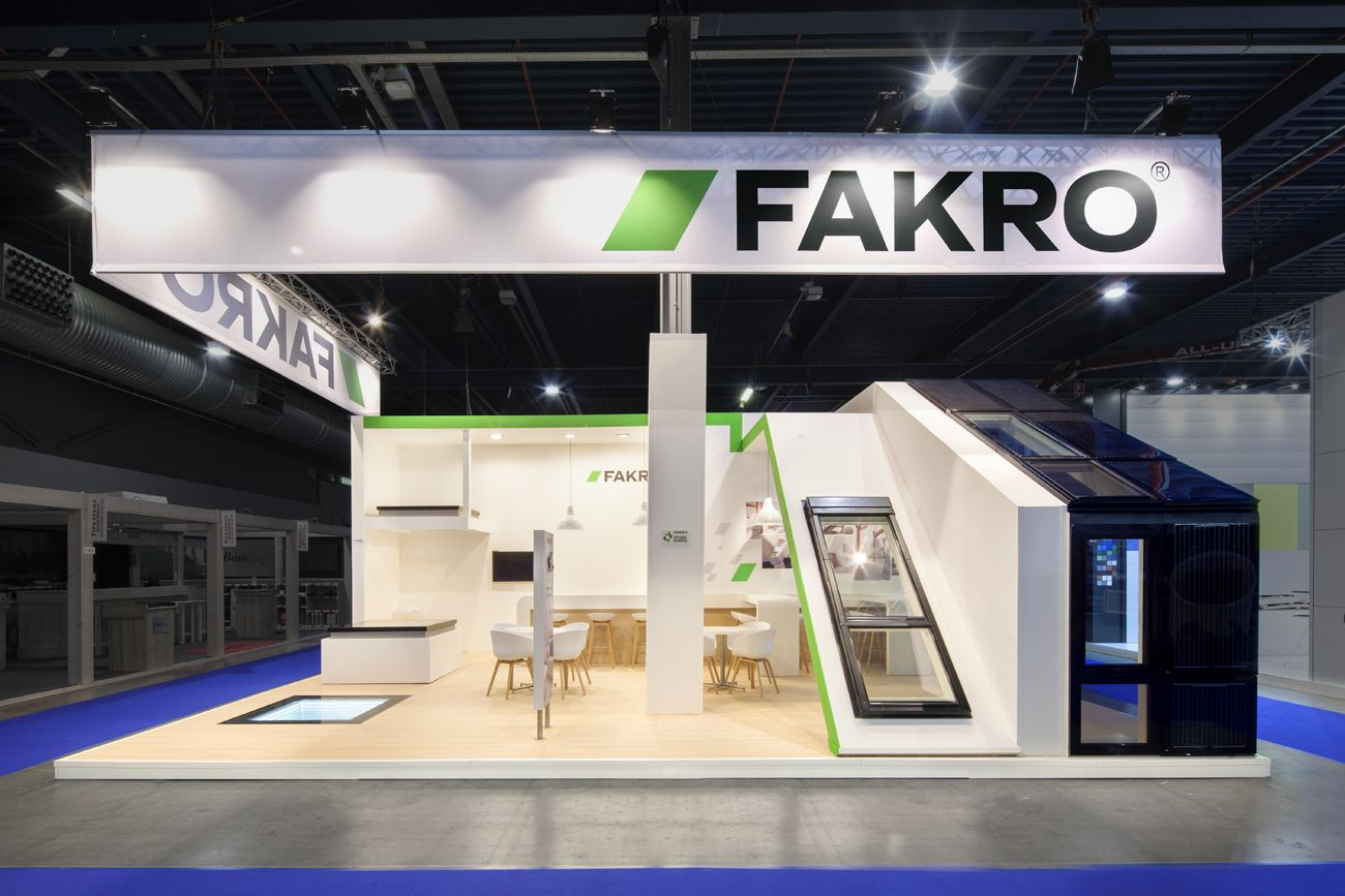 Exhibition Stand Builders Netherlands : Exhibition booth from the inside stand building at bouwbeurs