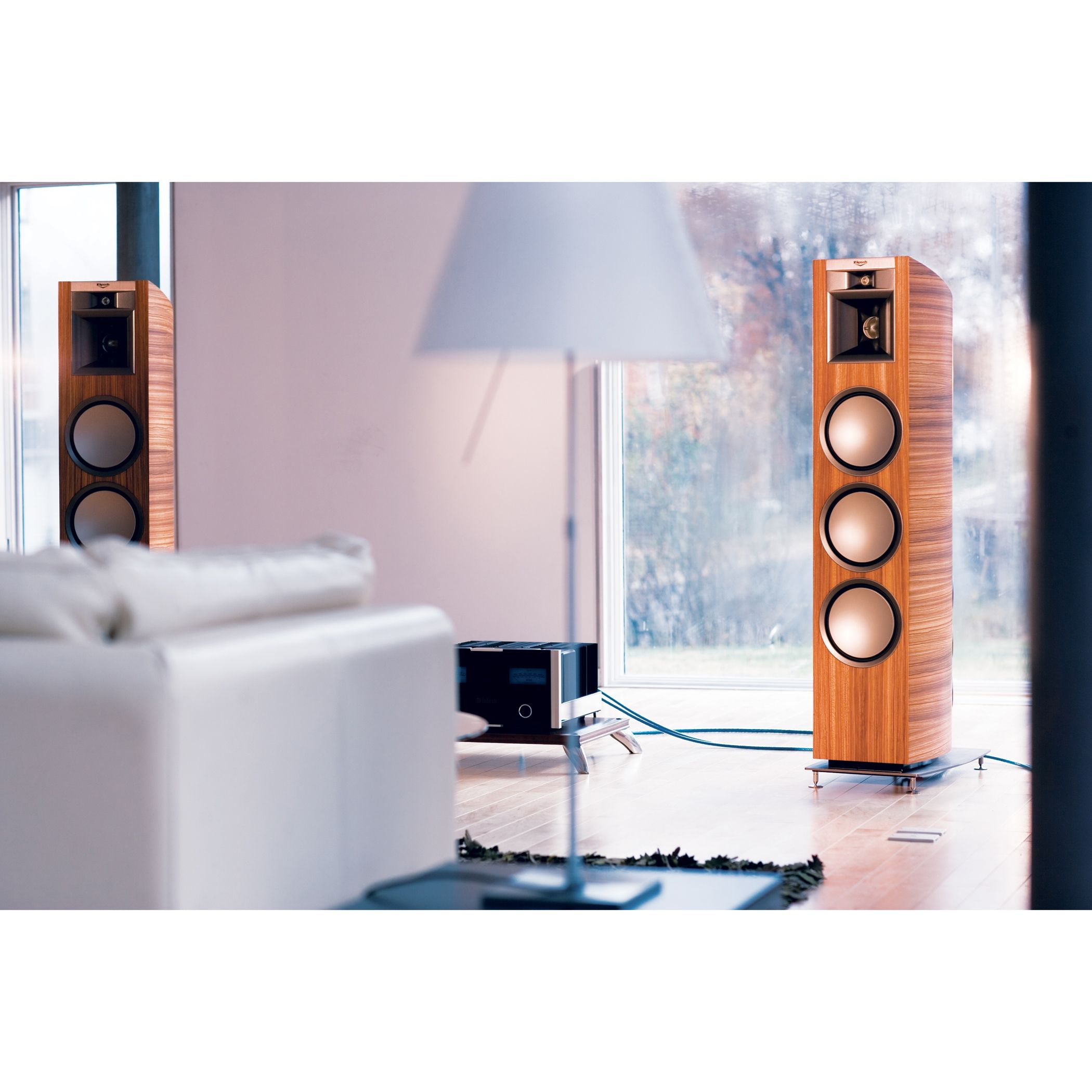 Our flagship Palladium speakers offer the latest in cutting-edge audio technology in a sleek package, providing you with unprecedented audio fidelity, low distortion and an aesthetically pleasing luxury package.