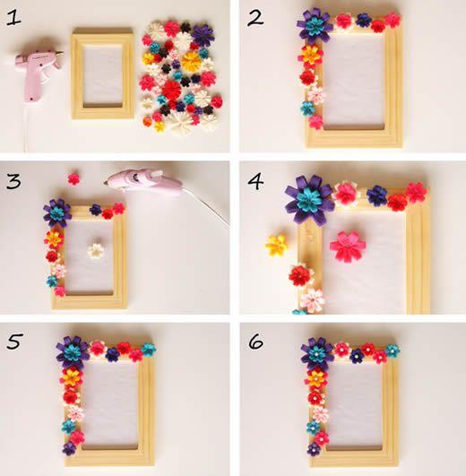 Como decorar moldura pesquisa google marcos de fotos - Como decorar fotos ...
