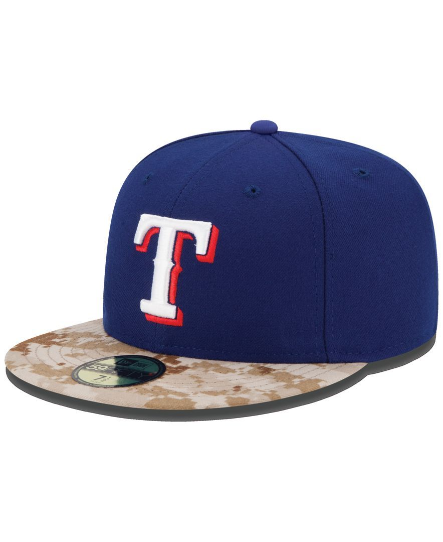 670f71aa4ae399 New Era Texas Rangers Memorial Day Stars and Stripes 59FIFTY Cap ...