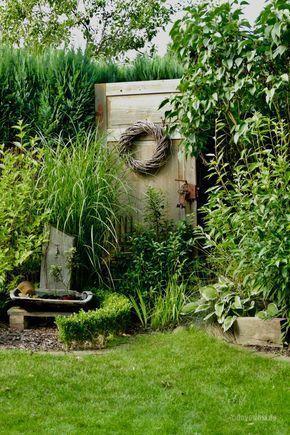 Zu Besuch bei Silke | Patio Ideas | Garten deko, Garten ...