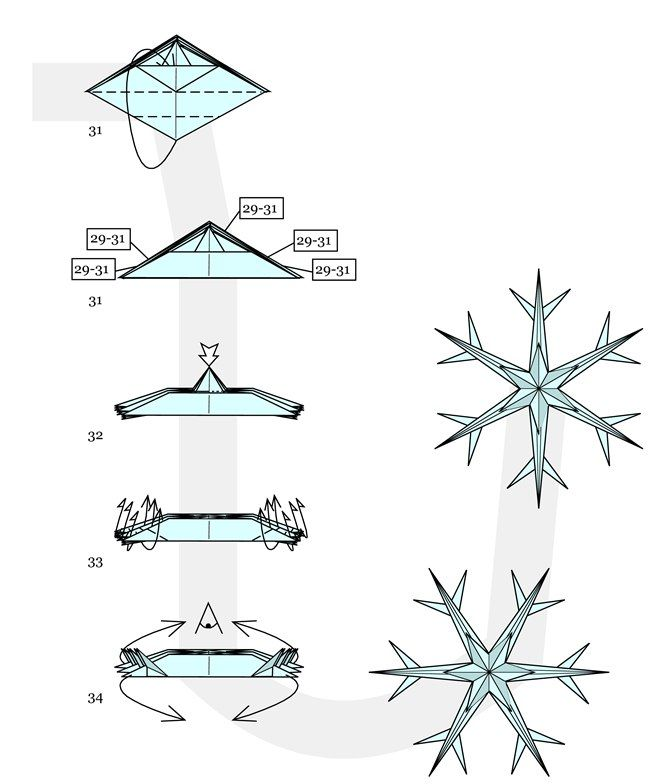 origami christmas ornaments instructions  Rainforest Islands Ferry