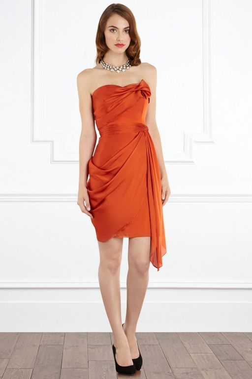 4a7d13f49b3 Coast Mahiki Dress in Orange