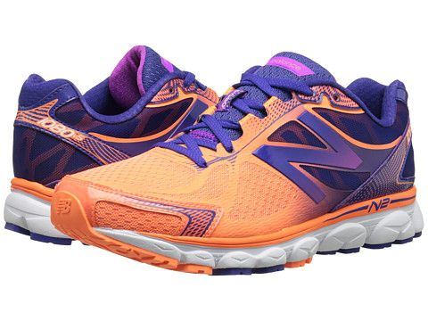 Womens Shoes New Balance W1080v5 Orange/Purple