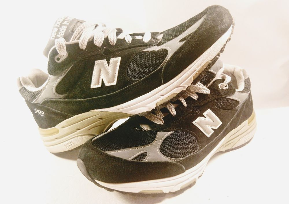 sports shoes fe33a 68c2d New Balance 993 USA Running Shoes MR993BK Men's Size 11.5 ...
