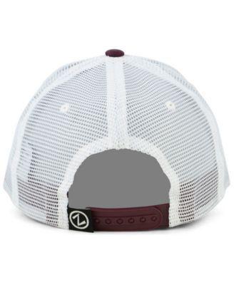 80c9b9318f4c7b Zephyr Arizona State Sun Devils Big Rig Mesh Snapback Cap - Red Adjustable