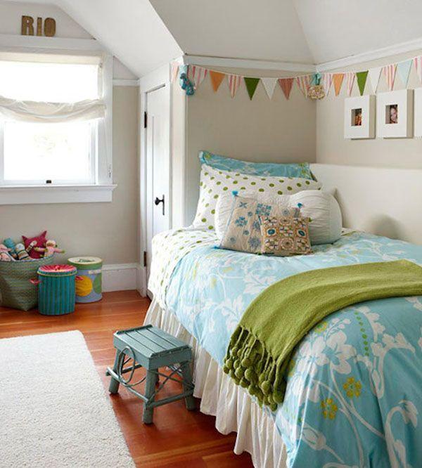 7 habitaciones infantiles decoradas con guirnaldas habitaciones infantiles - Habitaciones infantiles decoradas ...