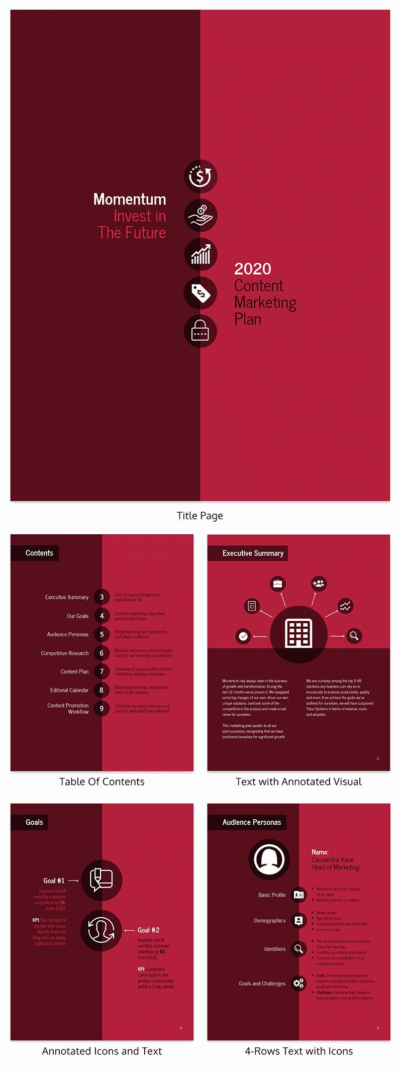 Creative Business Plan Template Awesome Creative Marketing