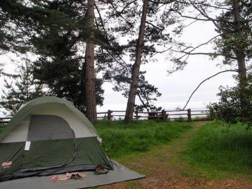New Brighton State Beach Campground