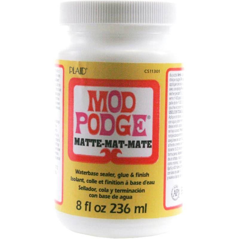 Mod Podge Matte Finish 236ml Mod Podge Matte Mod Podge Gloss Hobbies Crafts