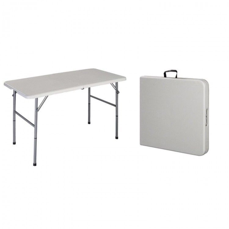 Portable Long Folding Outdoor Serving Table Event Party Picnic Bridge Table Ebay This Is Our 4ft Multi Pur Outdoor Serving Table Indoor Picnic Picnic Table