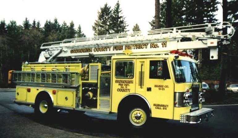 Snohomish County Fire District 11 Engine 1121; 1989