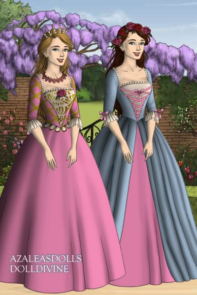 Princess Anneliese And Erika From Barbie As The Princess Princess Anneliese And Erika From