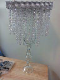 Diy crystal chandelier centerpiece wedding chandelier centerpiece diy crystal chandelier centerpiece wedding chandelier centerpiece aloadofball Images