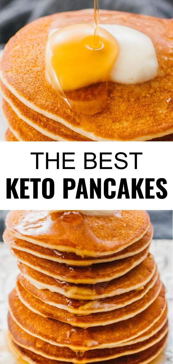 Keto Pancakes With Almond Flour - Savory Tooth