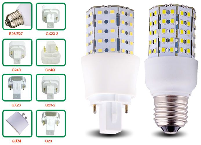 6w Led Corn Bulbs Base Types Street Lamp Lamp Energy Saving Projects